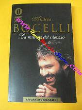 BOOK  LIBRO ANDREA BOCELLI La musica del silenzio mondadori no lp mc dvd live