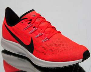 Details about Nike Air Zoom Pegasus 36 Mens Bright Crimson Sneakers Running Shoes AQ2203 600