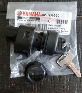 OEM-YAMAHA-GOLF-CART-G22-G29-DRIVE-MAIN-IGNITION-SWITCH-UNCOMMON-KEYED