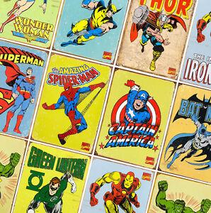 A4 A3 A2 A1 A0| Superman DC Comics Poster Print T443