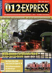 012 Express Nr. 25 Grossbahn Magazin Spur 0, 1 und 2 TOP neuwertig