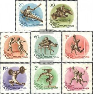 Ungarn-1472-1479-kompl-Ausg-gestempelt-1956-Olymp-Sommerspiele-Melbourne