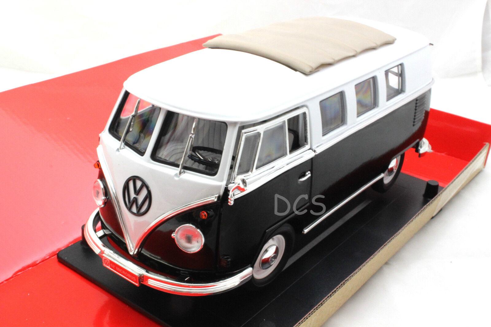 Road Signature 1962 Volkswagen Microbus 2Tone Limited E 600 PC 1 18 Diecast Car