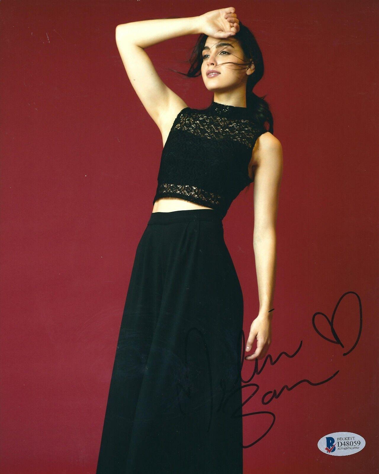 Melissa Barrera Signed 8x10 Photo Beckett BAS D48059