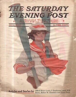 1906 Sábado Noche Post Agosto 25 - Alfred Henry Lewis ; Provoking Maridos