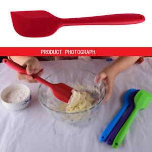 Silikon Kuchenmesser Creme Butter Spatel Mixer Teig Schaber Pinsel//
