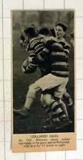 1920 vigoroso Tackle in Rugby Old alleynians contro Richmond