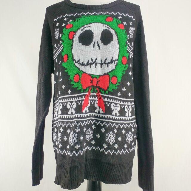 Jack Skellington The Nightmare Before Christmas Ugly Sweater Wreath
