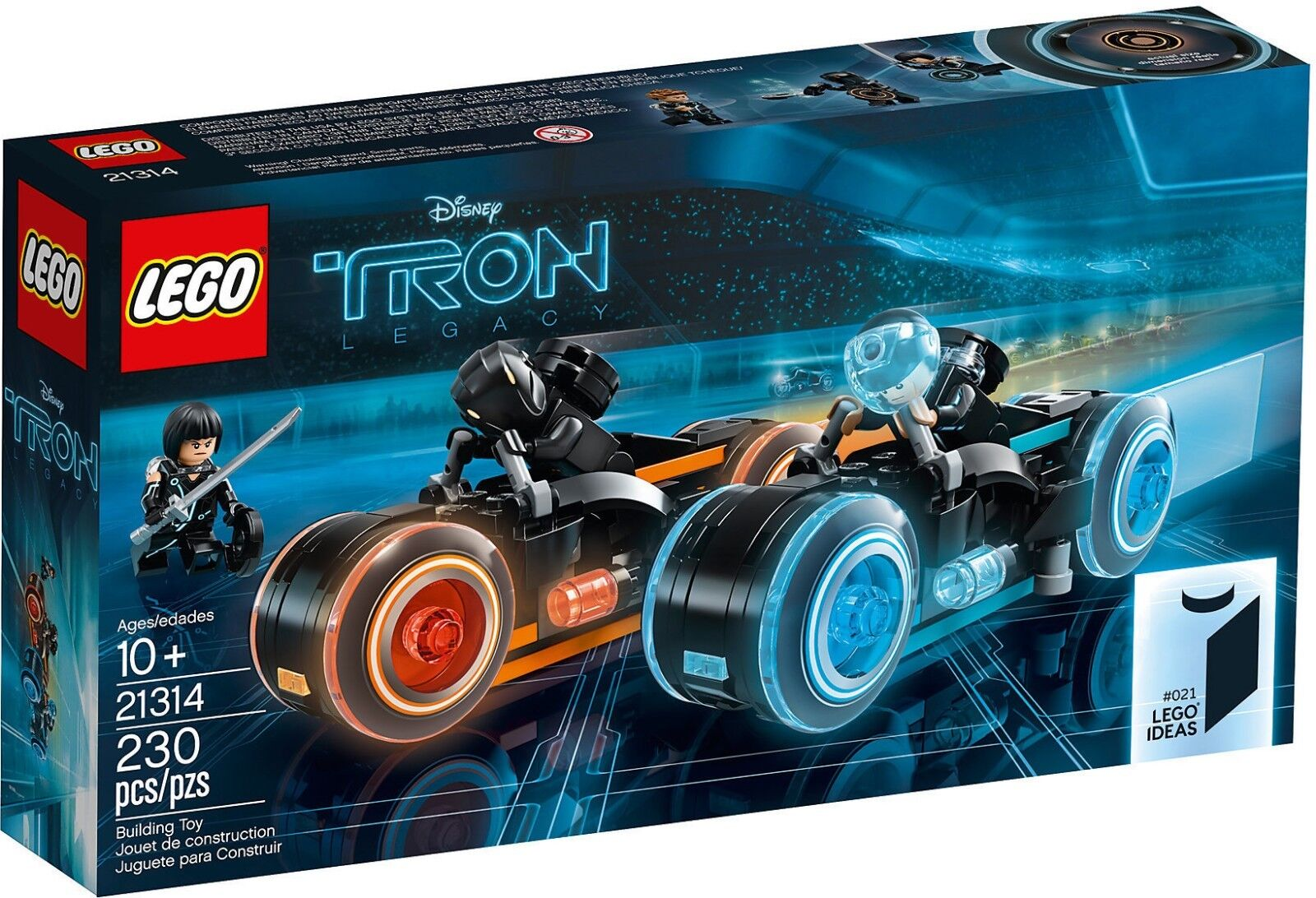 LEGO Ideas 21314 - Tron  Legacy NUOVO DISPONIBILITA' IMMEDIATA