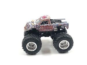 Hot Wheels Monster Jam Zombie 2017 Die Cast Vehicle 1 64 Ebay