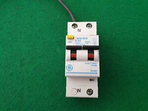 GE circuit breakers MCBs and RCDs various models