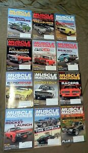 12-Issues-Hemmings-Muscle-Machines-Collector-Car-Magazine-2016-2017-2018