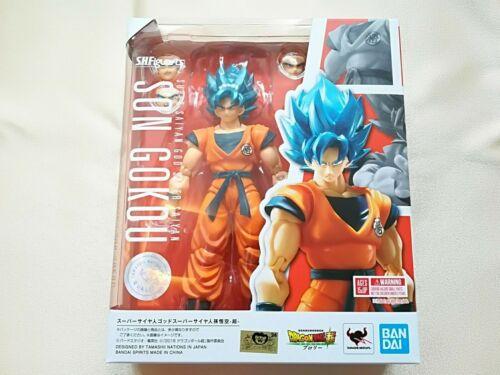 S.H.Figuarts Dragon Ball Super Saiyan God Son Gokou SSGSS Figure Bandai Spirits