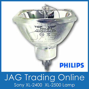 GENUINE PHILIPS 19.8 TV LAMP for SONY XL-2400 XL-2500 DLP - Rear Projector Bulb