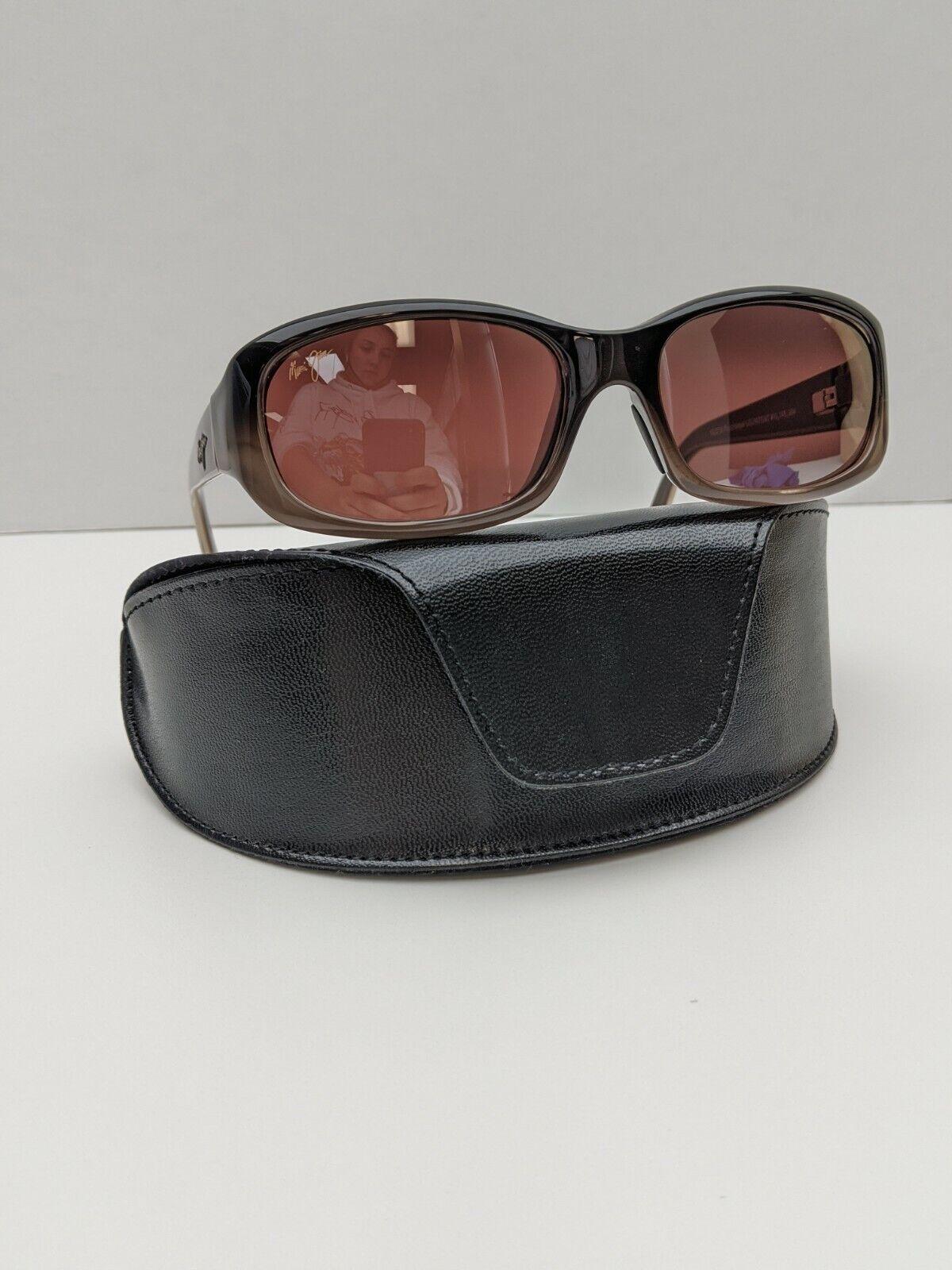 Italy! Maui Jim Punchbowl MJ219-01 Women's Sunglasses 54/17 135 /POZ259