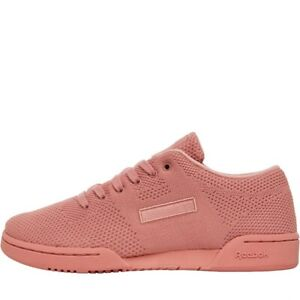 Reebok Classic Workout Clean UltraKnit Sizes 5, 5.5, 6.5 Pink RRP £85 BS9094