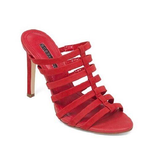 BCBG BCBGeneration Callie Größe 8 ROT NEU Damenschuhe Leder Schuhes
