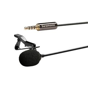 Brand New Saramonic Sr-lmx1 Broadcast Quality Lavalier Clip-on Microphone New Audio For Video Cameras & Photo