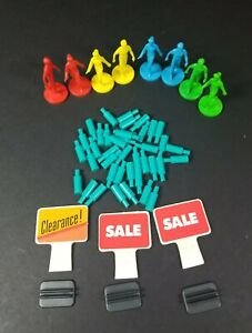 Electronic-Mall-Madness-1989-Replacement-Parts-People-and-Pegs