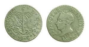 pcc1359-8-Haiti-Republique-25-Centimes-An-28-Jean-Pierre-Boyer