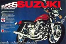 SUZUKI GS750 GS750A RESTORATION DECAL SET 1976 ORANGE MODEL
