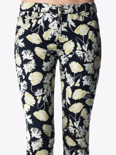 Cropped nero Stretch Nwt The Sz23 floreale Jeans Mankind 886992480170 For Contour 7 Skinny All PzqPY