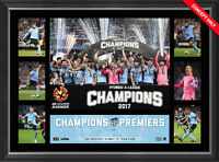 2017 A-league Champions Sydney Official Tribute Frame - Best Price Online