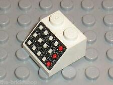 LEGO white slope brick 3039p32  / Set 6972 6371 6953 6990 6394 7835 6783 5580...