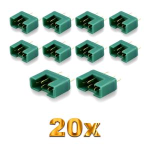 20x-pieza-MPX-male-conector-m6-6pin-multiplex-style-6-polos-35a-verde-Plug-hembra