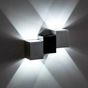 Lampe Eclairage Applique Murale Led 6w Interieur Decoration Moderne Chambre Buro Ebay