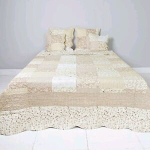 Clayre Eef Plaid.Details About Clayre Eef Plaid Bedspread Coupling Bedspread Shabby Vintage Country House