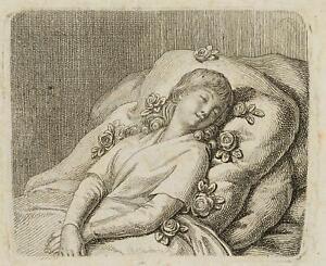 Chodowiecki (1726-1801). la su rose dolcemente commitments innocenza; 1