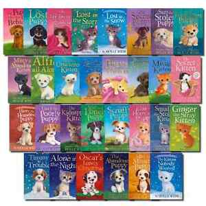 Holly-Webb-Animal-Stories-30-Book-Set-Collection-Puppy-and-Kitten-Rescue-Series
