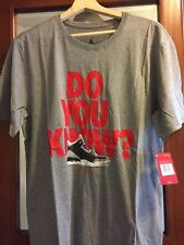 beac3d80692570 item 3 Nike Air Jordan Retro 3 DO YOU KNOW Gray ELEPHANT PRINT Men s T-Shirt  Sz Large -Nike Air Jordan Retro 3 DO YOU KNOW Gray ELEPHANT PRINT Men s T- Shirt ...
