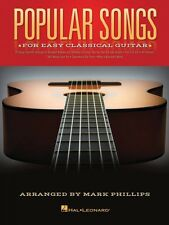 Popular Songs for Easy Classical Guitar Tab Solo Sheet Music Hal Leonard Book