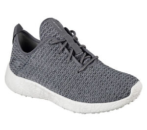 Image is loading Womens-Skechers-Burst-City-Scene-Charcoal-Athletic-Sneakers -