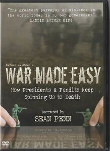 War-Made-Easy-034-narrated-by-Sean-Penn-034-Region-2-DVD-Like-New-condition