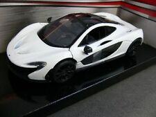 1/24 Motor Max McLaren P1 weiss/schwarz 79325