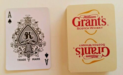 William Grant/'s Scotch Whisky Playing Cards Complete Deck