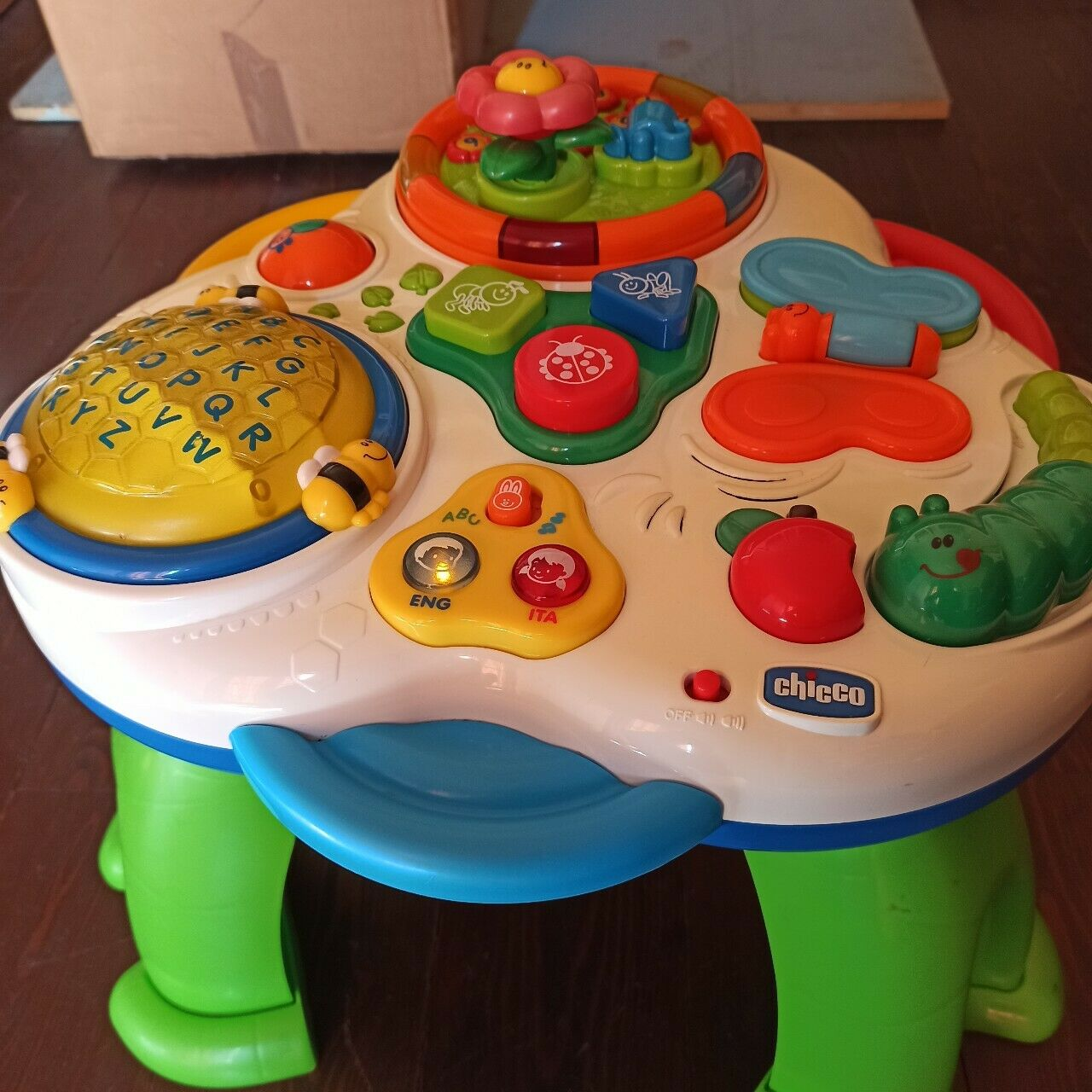 Soluzioni Giardino Delle Parole tavolo elettronico il giardino delle parole***chicco*bilingue***italiano  inglese