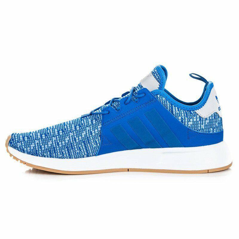 Adidas Originals X PLR Fashion shoes bluee   White   Gum Sz 7.5 AH2357
