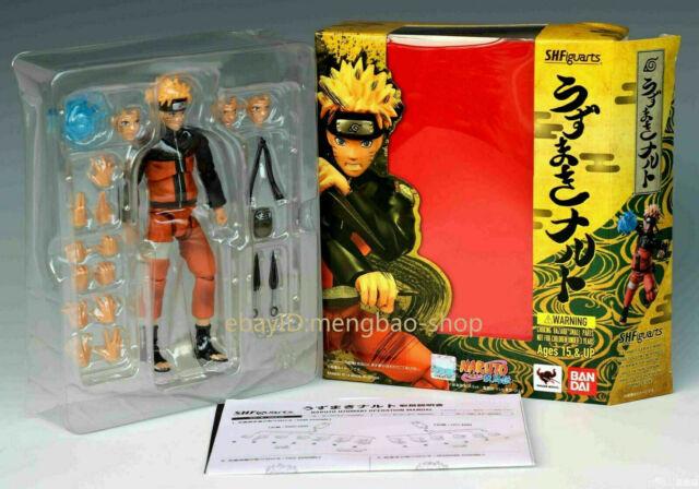 S.H.Figuarts Uzumaki Naruto and Uchiha Sasuke Combo Tamashii Web Figure Toy Gift