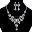 Women-Fashion-Necklace-Jewelry-Crystal-Flower-Choker-Chunky-Bib-Statement-Chain thumbnail 1