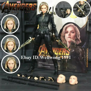 S-H-Figuarts-Black-Widow-6-034-Action-Figure-SHF-Toy-Model-Avengers-3-Infinity-War