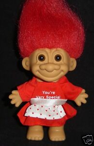 """5/"""" Russ Troll Doll VALENTINE YOU/'RE VERY SPECIAL CUPID NEW IN ORIGINAL BAG"""