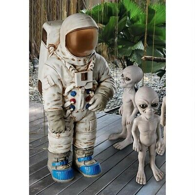 "Collectibles 25.5"" Usa Astronaut Rocket Man Space Cadet Nasa Program Apollo 11 Statue Agreeable Sweetness"