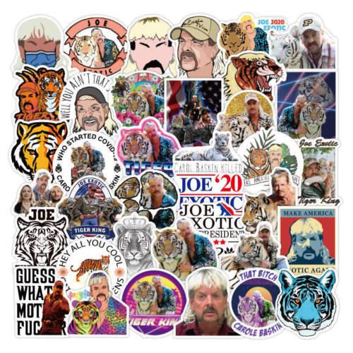 20pcs Tiger King Stickers Joe Exotic Carole Laptop Desk Luggage Buy 2 Get 1 Free
