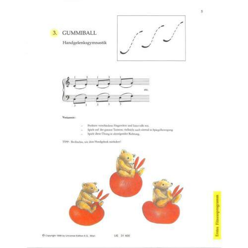 Spiel dich fit Finger-//Bewegungsübungen für jung e Klavierspieler geblieben