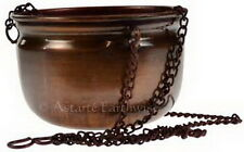 HANGING INCENSE BURNER CAULDRON Wicca Pagan Witch Goth Herbs Incense
