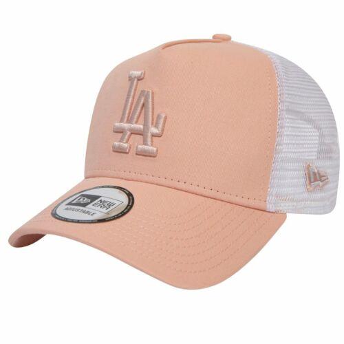Los Angeles Dodgers pink New Era Adjustable Trucker Cap